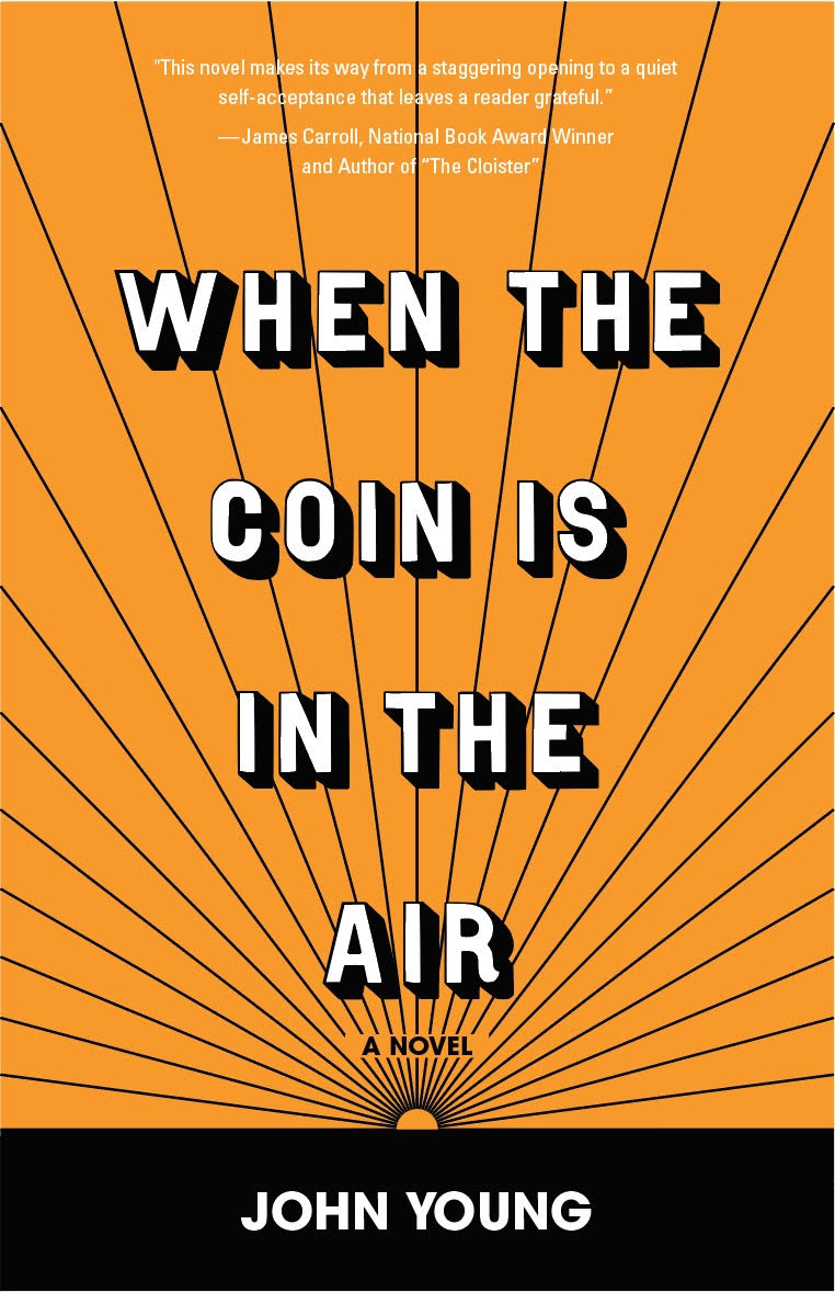 cover of when the coin is in the air 1